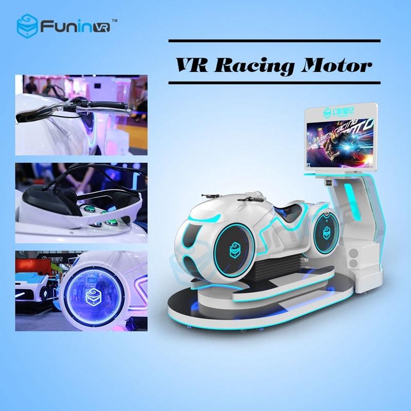 [Hot Item] 9d Virtual Reality Simulator Racing Motor Vr Simulator Vr Game  Machine in Game Zone