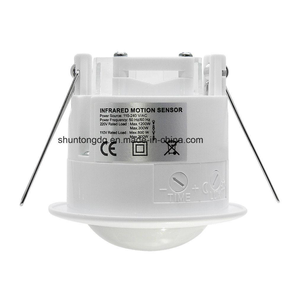 China 110V-220V/AC 360 Degree Smart PIR Infrared Motion Sensor Light ...