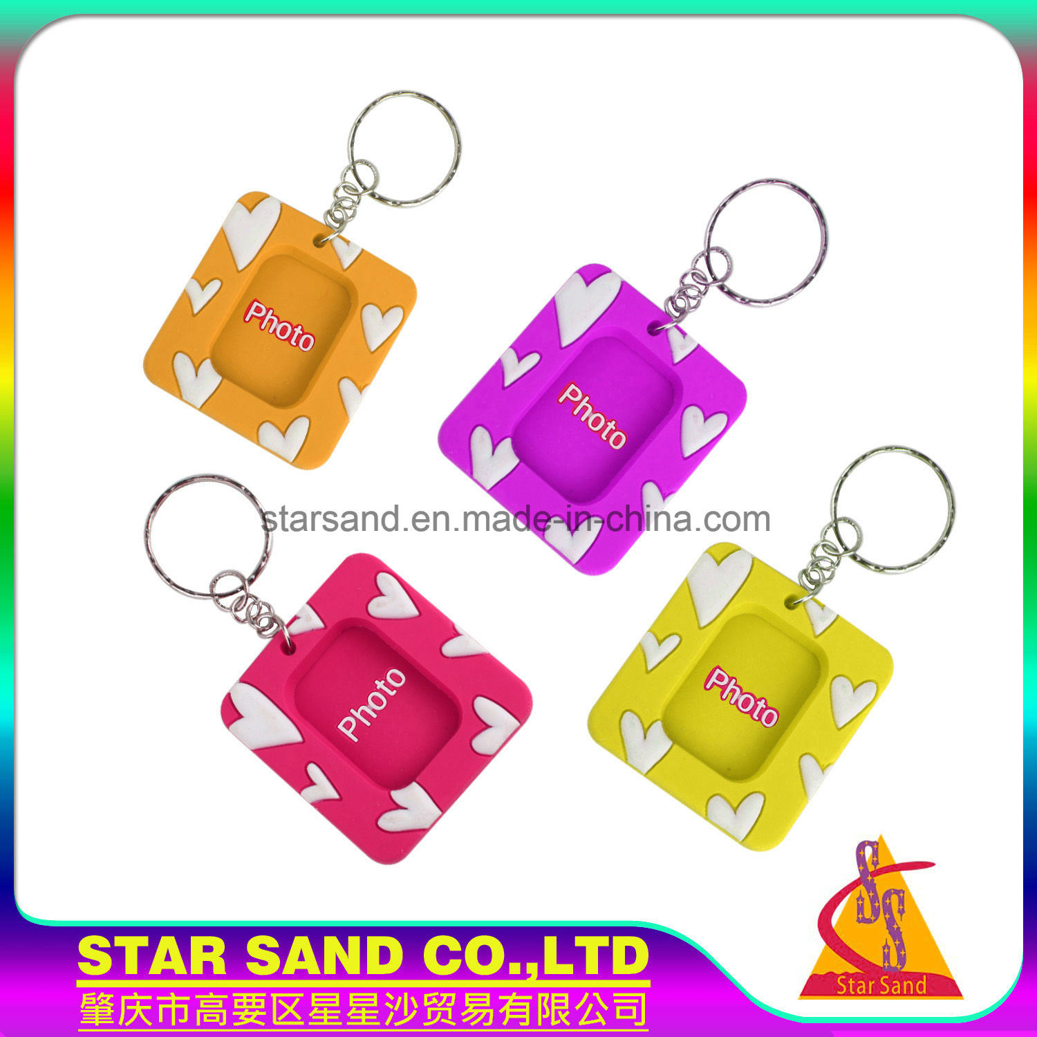 China Wholesale Cheap Different Colorful Magnetic Picture PVC Mini ...