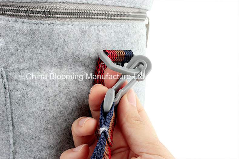 Felt Aluminium Foil Insulated Camping Cool Cooler Lunch Bag