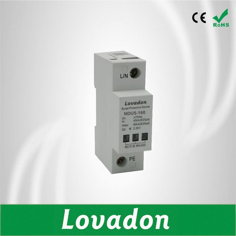 China New Cb Certified Ndu5 160 Surge Protector Device Protective