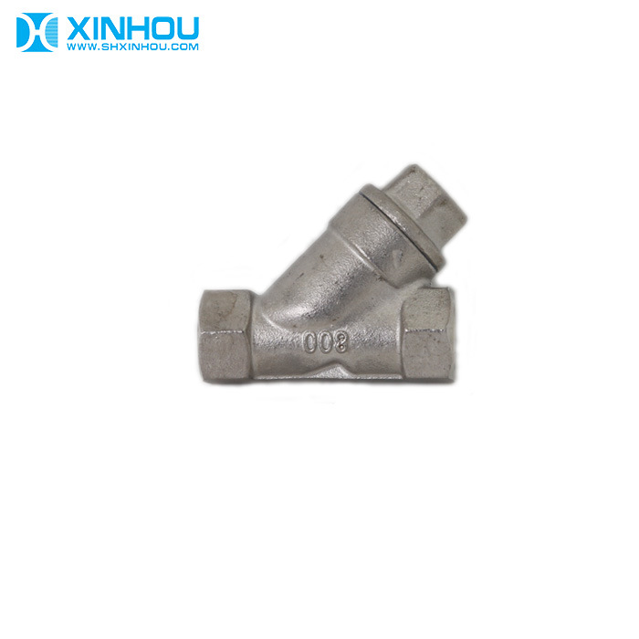 China High Pressure 304 Stainless Steel Female Filter Y