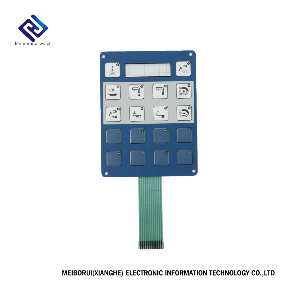 Circuit Board Pcb Electrical Boards Of Tactilemembraneswitch China Custom Numeric Membrane Switch Keypad Keyboard For Home Appliance