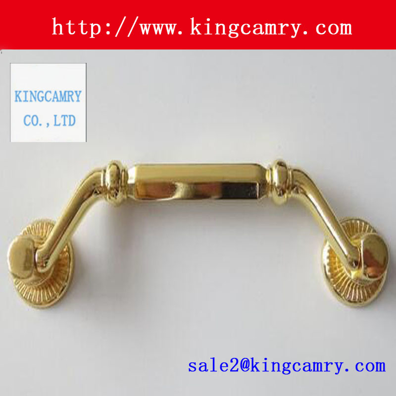 Hot Item Zinc Alloy Pull Handles Jewelry Box Knobs Antique Wooden Box Handle