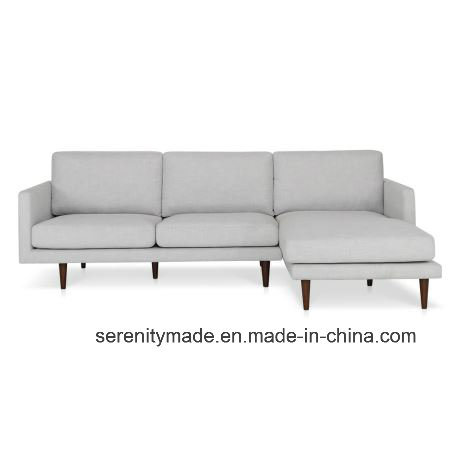 China Contemporary White Design Three Seaters Leather Sofa for ...