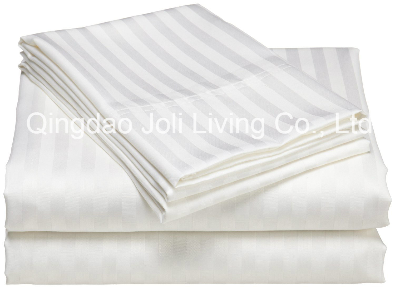 China 1cm Satin Sripe Hotel Bedding Sets/Striped Hotel Bed Sheets   China  Striped Bedding Sets, Hotel Striped Bed Sheets