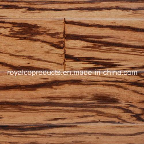 China Attractive Zebrano Engineered Wood Flooring Tile Building