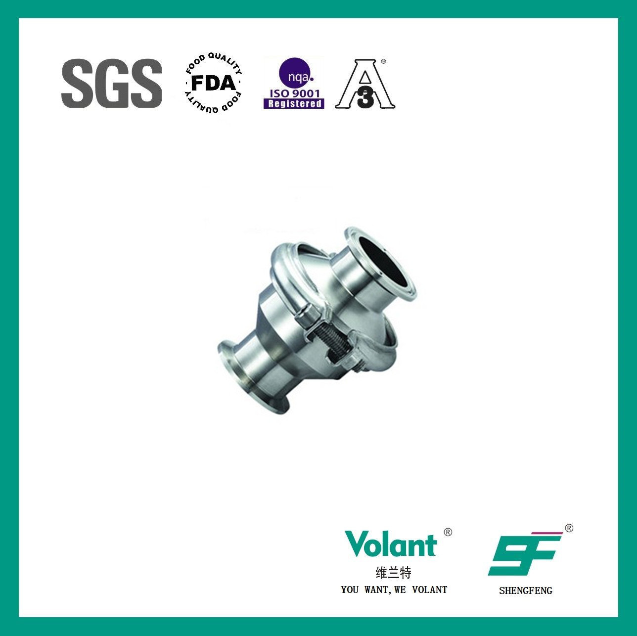 Single-Edge Welded, Single-Edge Quick-Installed Check Valve Sf6000004