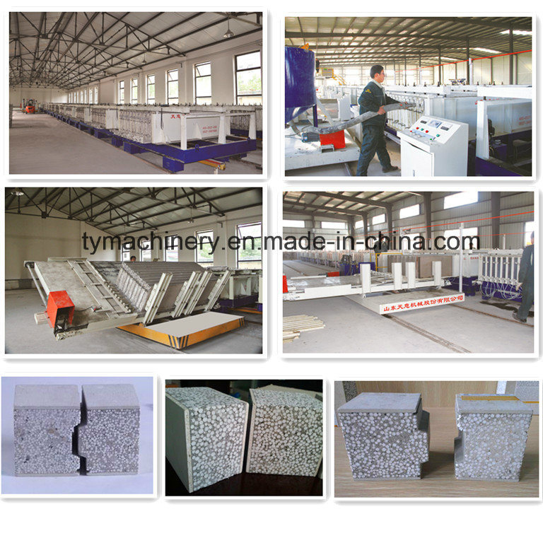 Insulaion Concrete Partition EPS Sandwich Board/Panel Forming Machine/Equipment