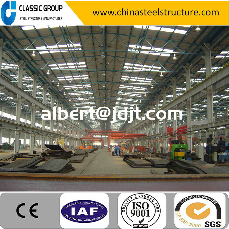 Easy Assembly Steel Structure Tube Truss Industrial Building