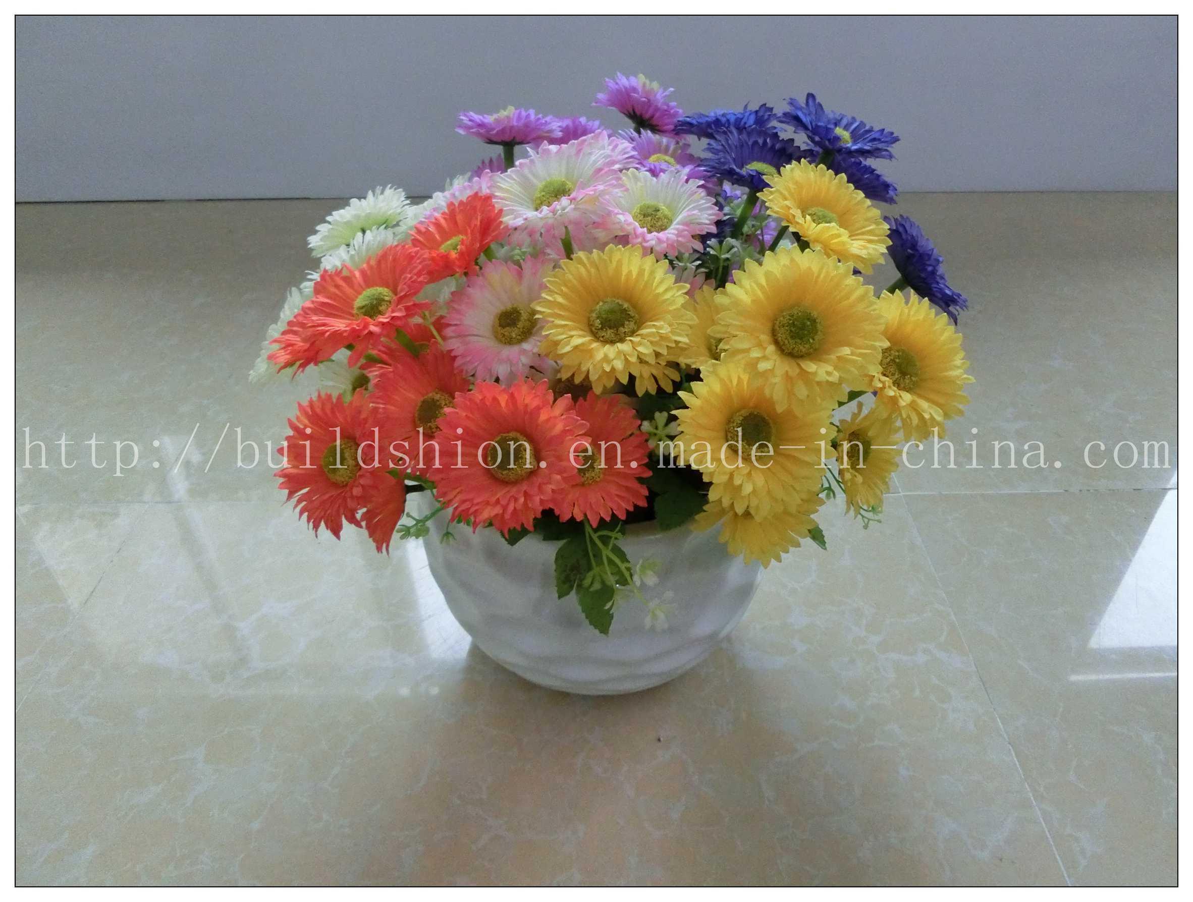 China Cheap Decoration Artificial Flower Manufacturer Bh51007