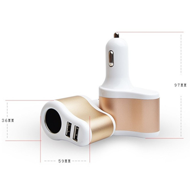 3.1A Dual USB Car Charger for iPhone Factory Price Charger pictures & photos