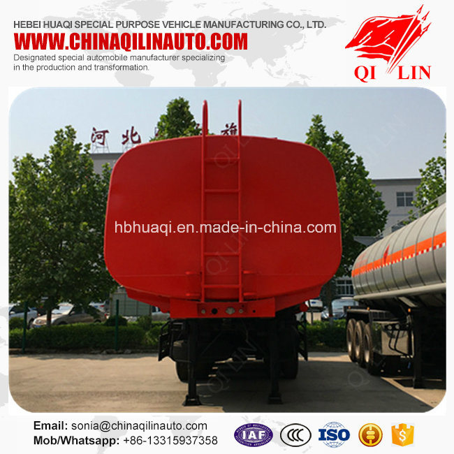 Top Quality 40cbm Vegetable Oil Tanker Semi Trailer pictures & photos