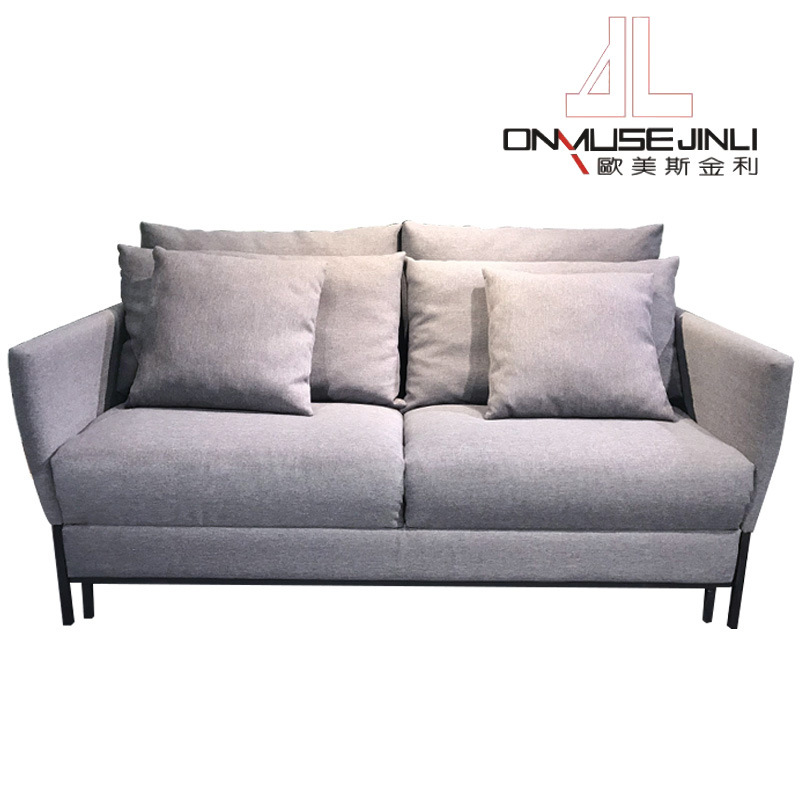 Living Room Fabric Foldable Sofa Bed