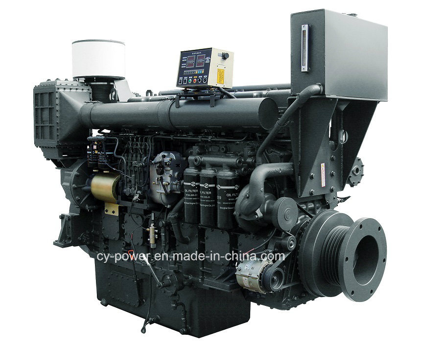 Sc33W Series Marine Engine, 382-605kw, Sdec