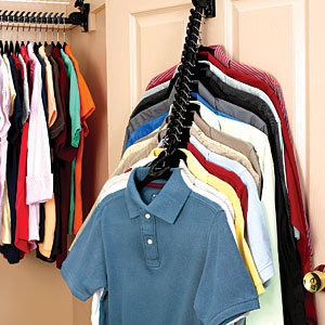 Closet Doubler Gives You Massivley More Amounts Of Space. If Your Tired Of  Your Over Crowded Closets, You Need To Order Closet Doubler.
