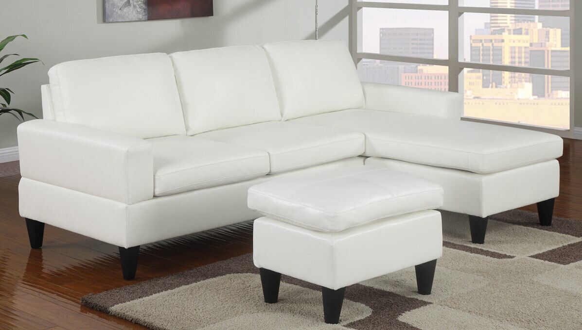 [Hot Item] Reversible Sectional Leather Sofa (L. A17)