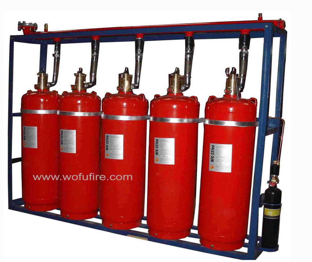 China Hfc 227ea Clean Agent Fire Suppression System