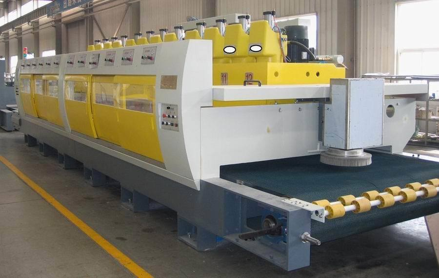 Automatic Polishing Line Stone Polishing Machine