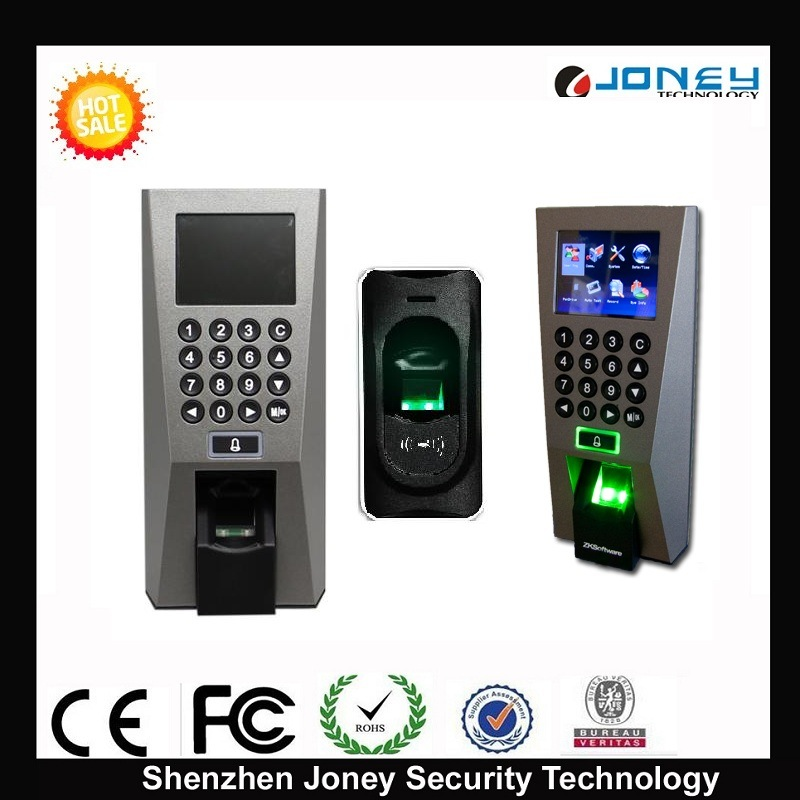 [Hot Item] TFT Screen Zksoftware Fingerprint Reader Standalone Access  Control (F18 access controller)