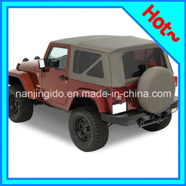 China Soft Top With Tinted Windows For Jeep Wrangler Jk 2 Door 2010 2016