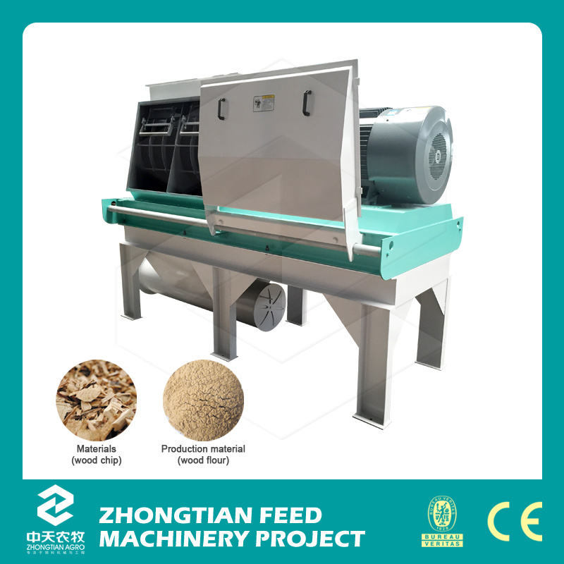 2016 New Biomass Wood Crusher Machine Sawdust Making Machine