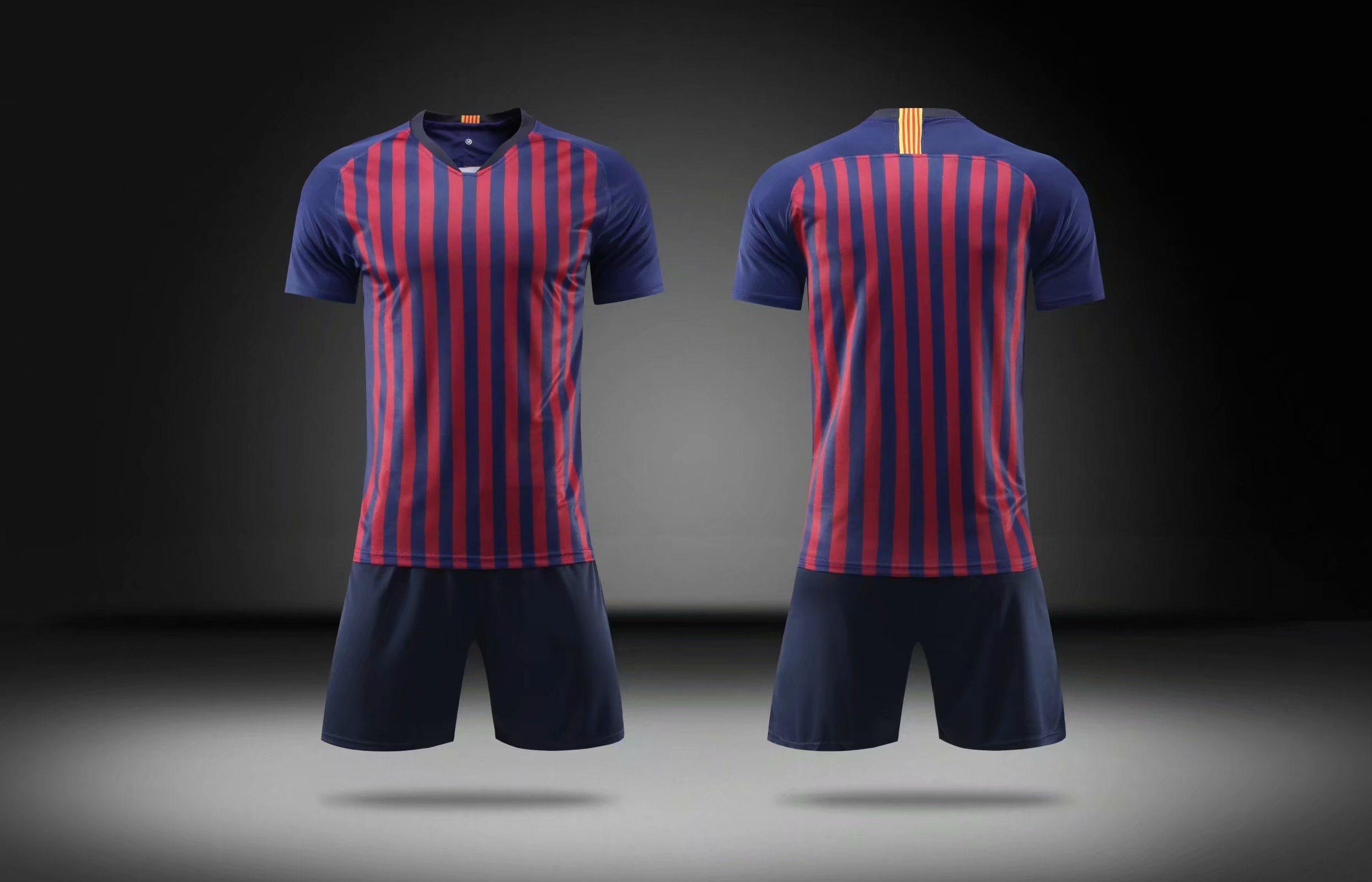 8e49a2c7125 China 2018-2019 Fashion Barc Blue Red Soccer Kits (woman football Jersey  tshirts) - China Real Madrid Home Soccer Jersey, Long Sleeve White T-Shirt