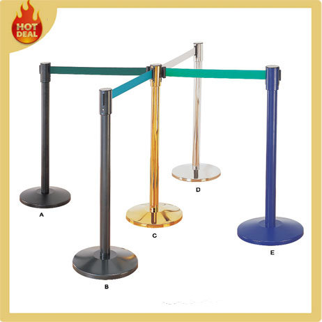 Stanchions For Sale >> Hot Item U Shape Stackable Retractable Belt Crowd Control Stanchions For Sale Queue Barrier Queue Pole