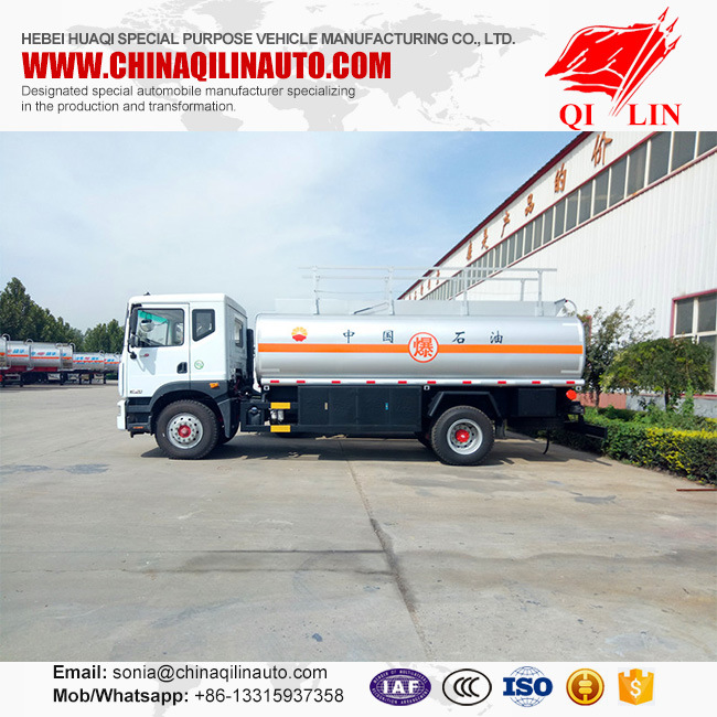 High Quality Pipa Reabastecimiento Refuel Tank Truck for Sinopec pictures & photos