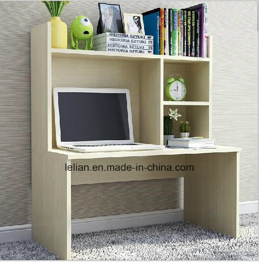 Home Computer Desk PC Table With Bookshelf