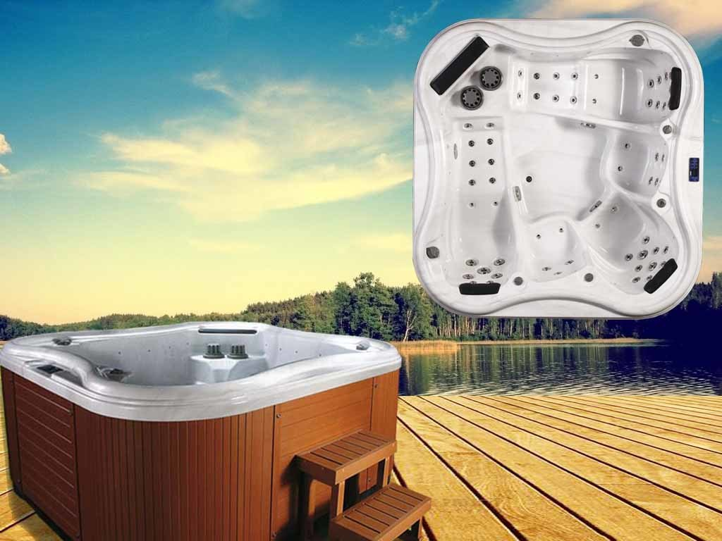 China Wholesale Hot Luxury Freestanding Hot Tub Outdoor Whirlpool ...