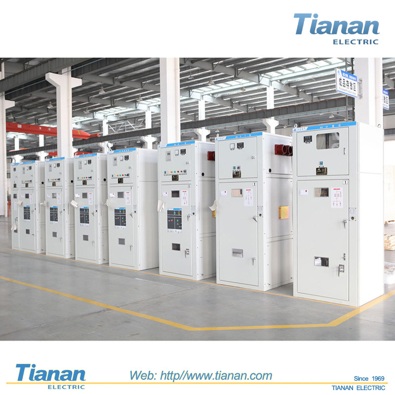 TIANAN 12kv AC Metal-Clad Switchgear, High Voltage Electrical Switch Power Distribution Cabinet Switchgear pictures & photos