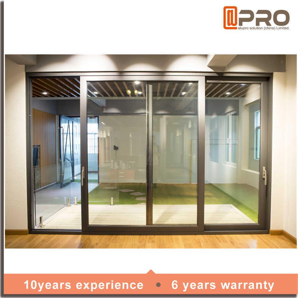 China New Products Aluminium Sliding Door Sliding Glass Door With Wire Mesh    China Sliding Door, Aluminium Sliding Door