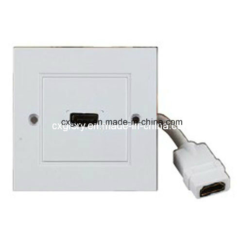 High Quality UK Wall Plate for HDMI