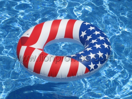 Summer Swim Ring with Personal Logo Printing pictures & photos