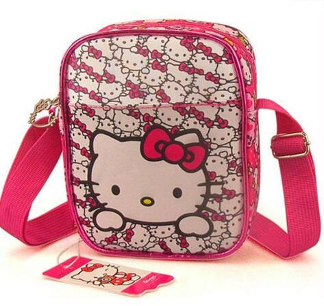 a4ea172154d9 China Manufacturer Kids Cute Hello Kitty Pattern Shoulder Bag Sh ...