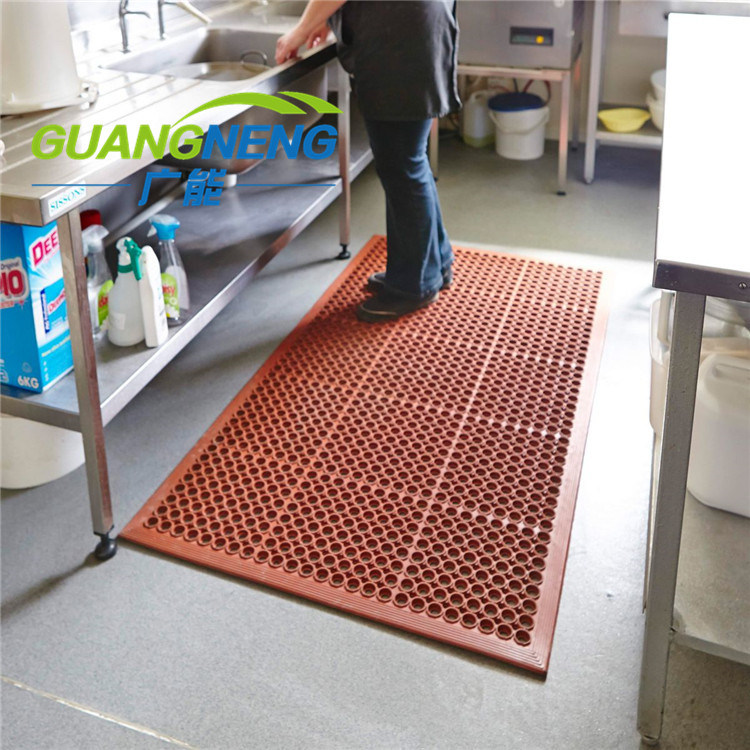 [Hot Item] 100% Recycled Non Slip Kitchen Rubber Flooring Washable Doormat