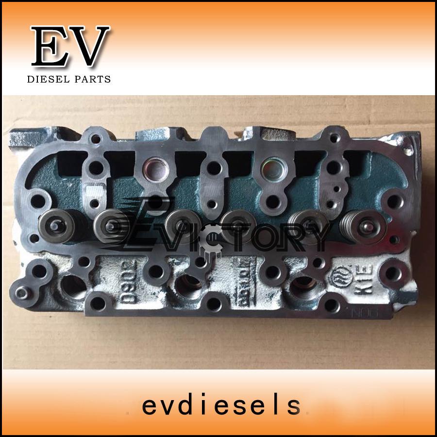 China D950 D905 D902 Rebuild Overhaul Kit Cylinder Head Gasket Crank Shaft Main Bearing Seal Kits Piston Ring Liner Connecting Rod Crankshaft Set