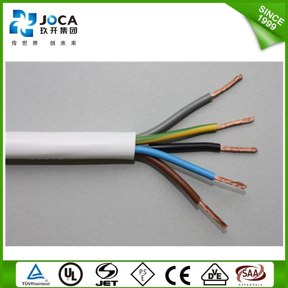 China H05VV--F Flexible Cu Conductor PVC Insulation House Wiring ...