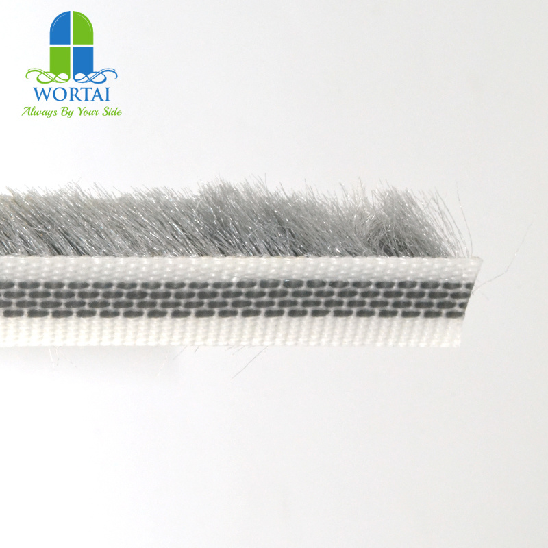 11 10 Grey Pile Weather Stripping For Sliding Glass Doors