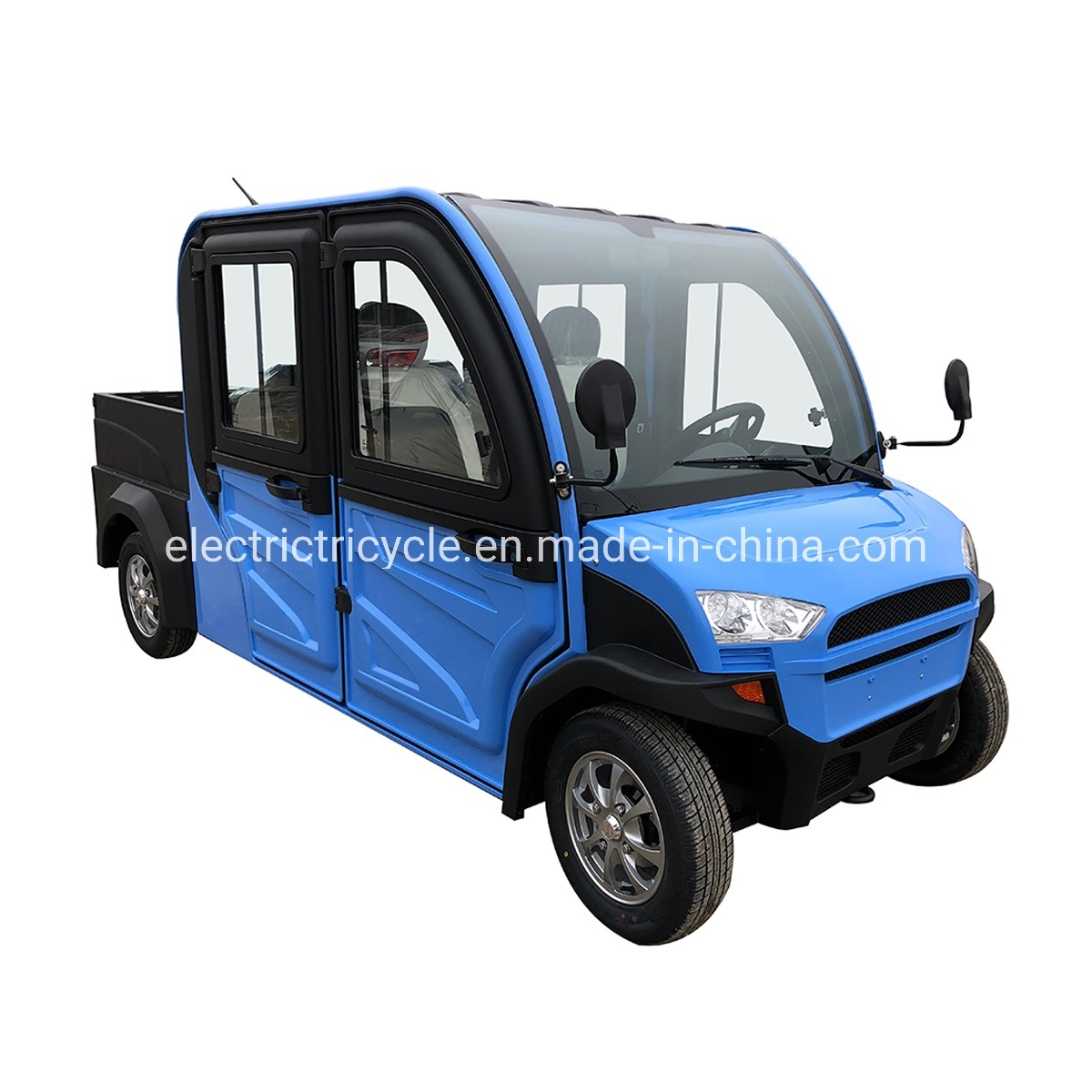 China Factory Supply Cheap Mini Electric Pick up Truck for Sale pictures & photos