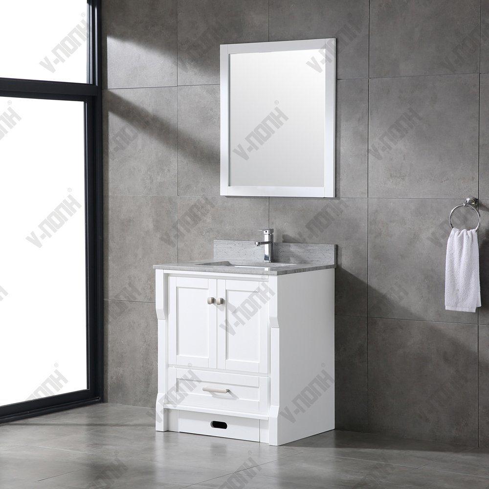 High End Marble Top Bathroom Vanity