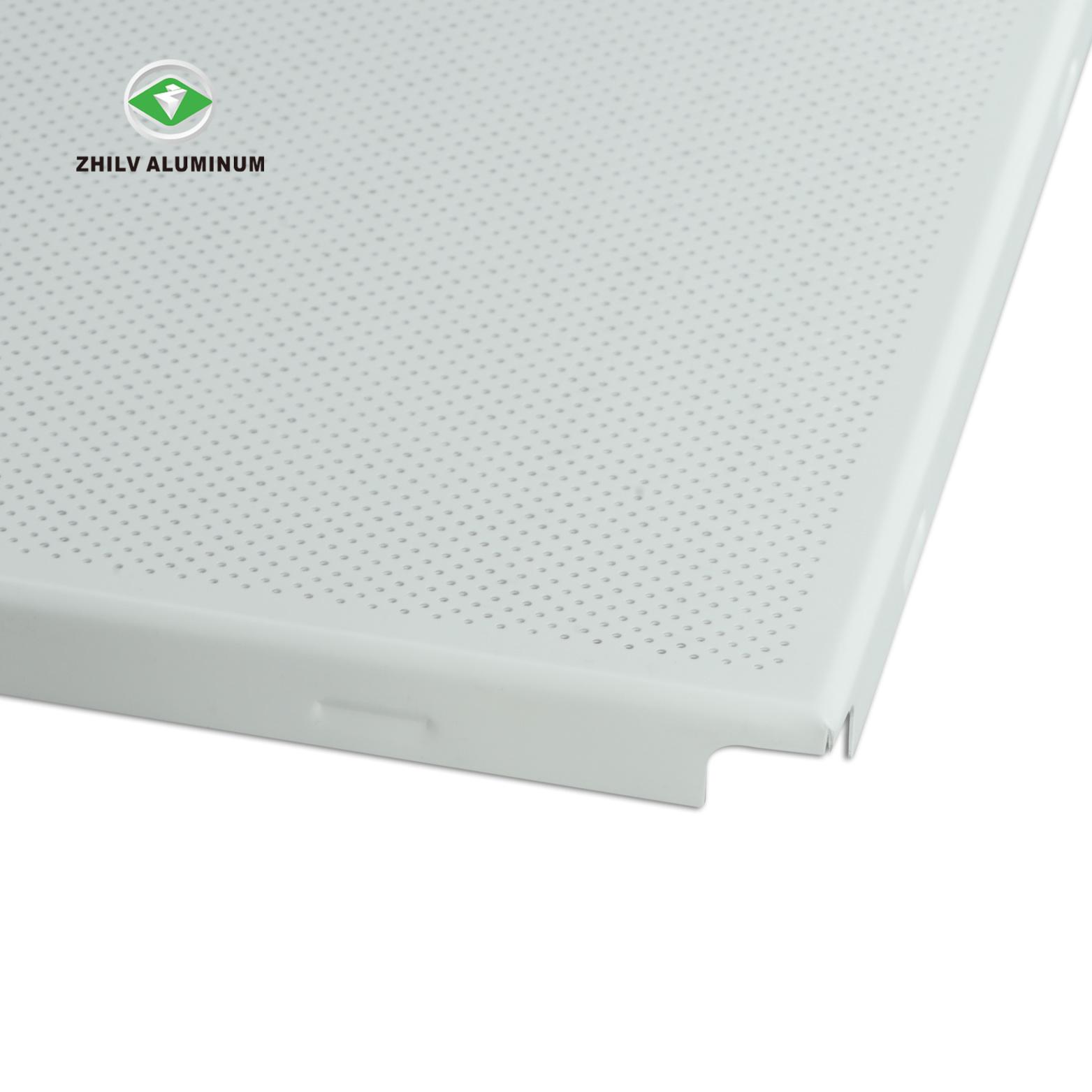 Hot Soundproof Aluminum Metal False Ceiling Panel For Office