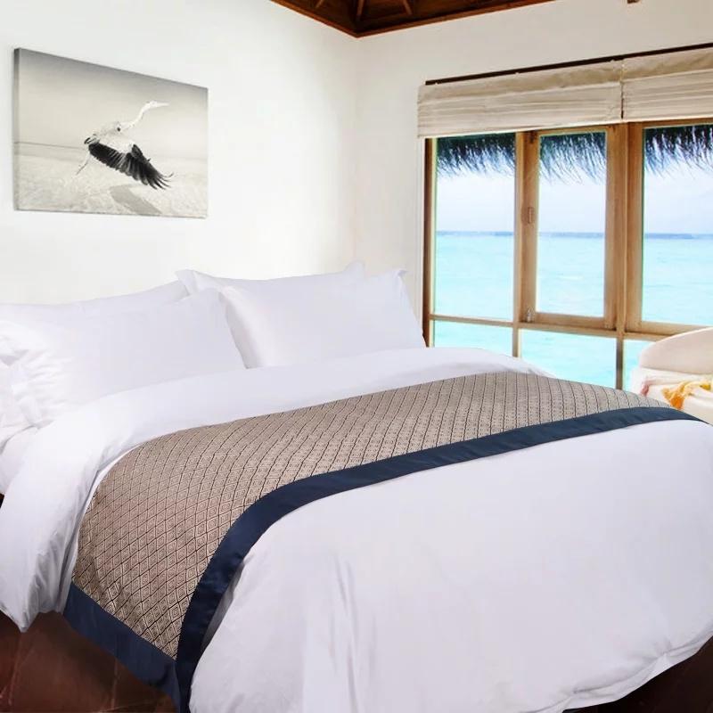 China 200 Thread Count Hotel Luxury Bedline 100 Cotton Jrc235 White Bedding Pillowcases