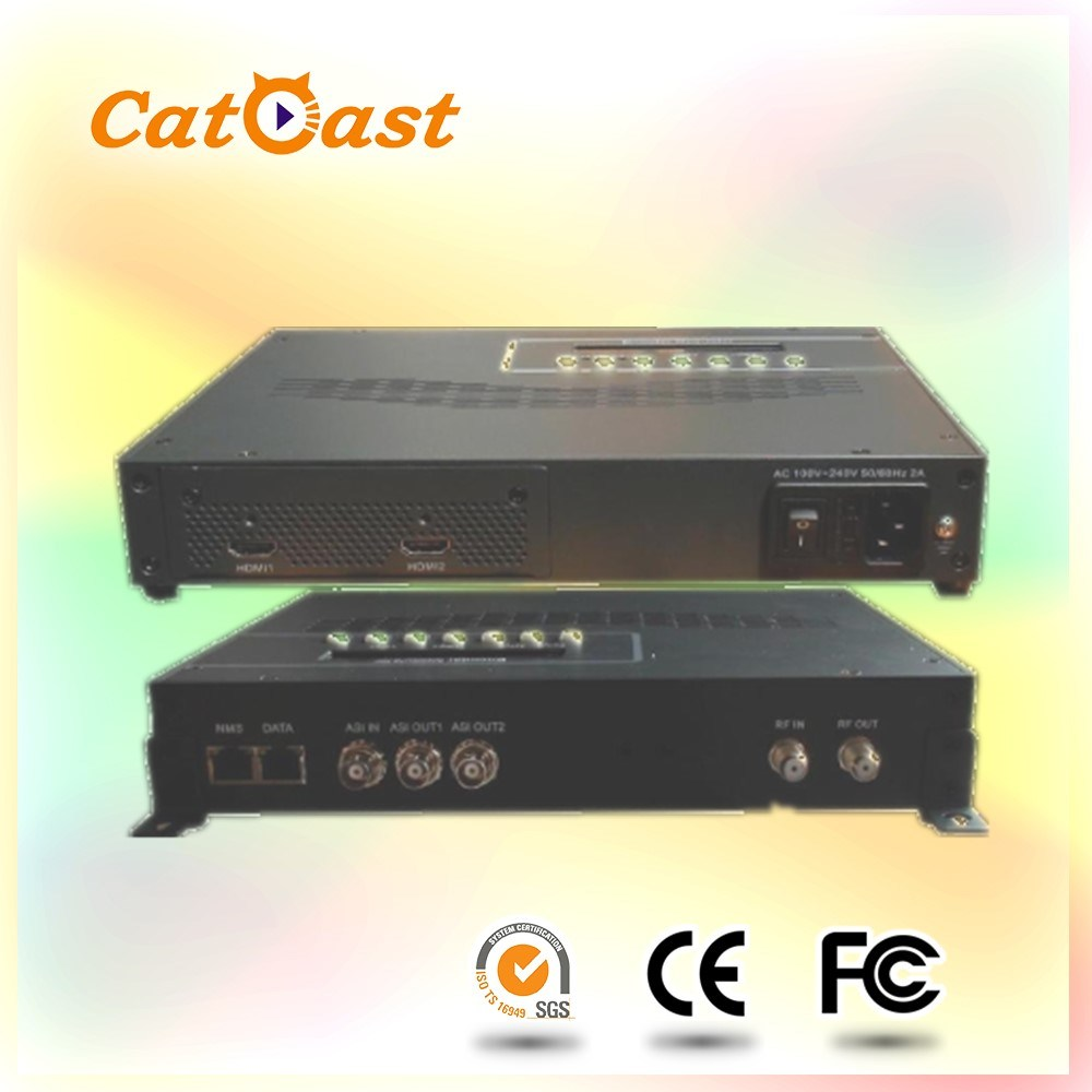 [Hot Item] with HDMI and Asi Input and RF Output ISDB-T Encoder Modulator