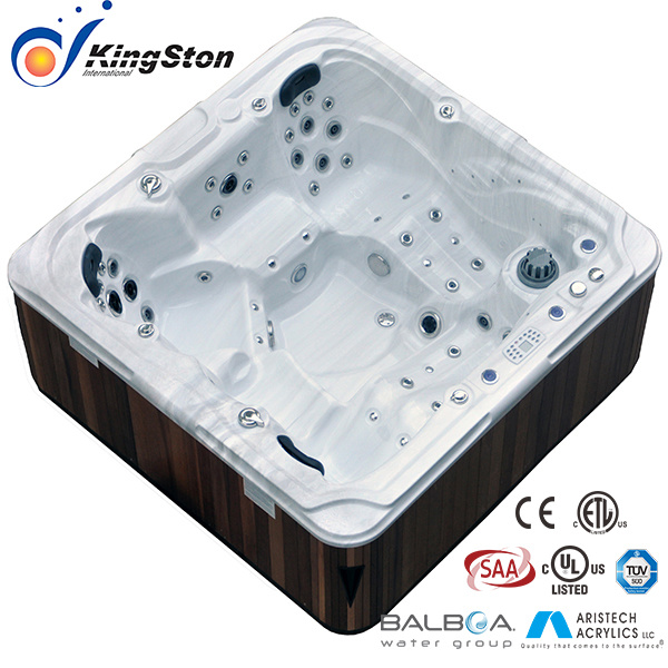 China Two Loungers Acrylic SPA /Whirlpool SPA/Hot Tub/Jcs-17 - China ...