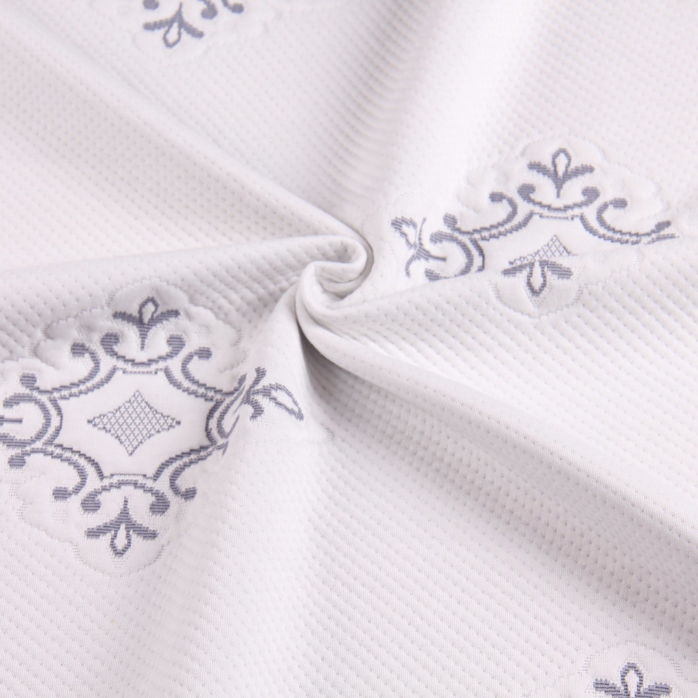 China Polyester Jacquard Knitting Mattress Fabric And Bed Cover Bedcover Water Proof Pillow