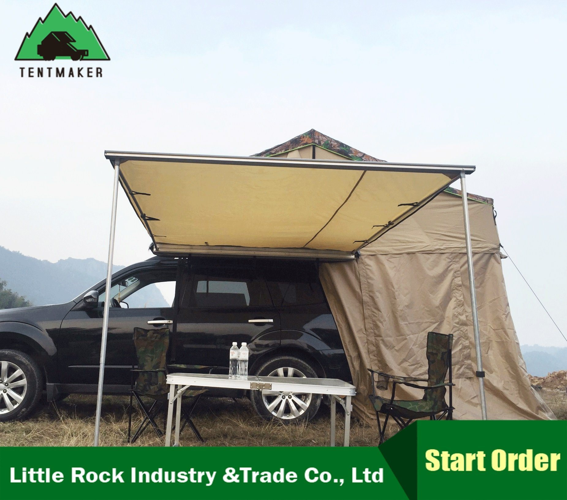 4Wd Awning Tent [hot item] car rear 4wd side awning camping awning