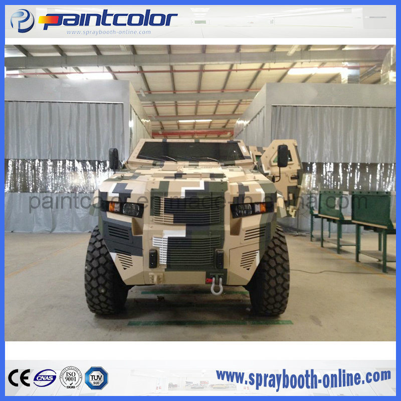 [Hot Item] Auto Painting Baking Booth Spray Booth Paint Oven for Military  Vehicles Like Armored Cars