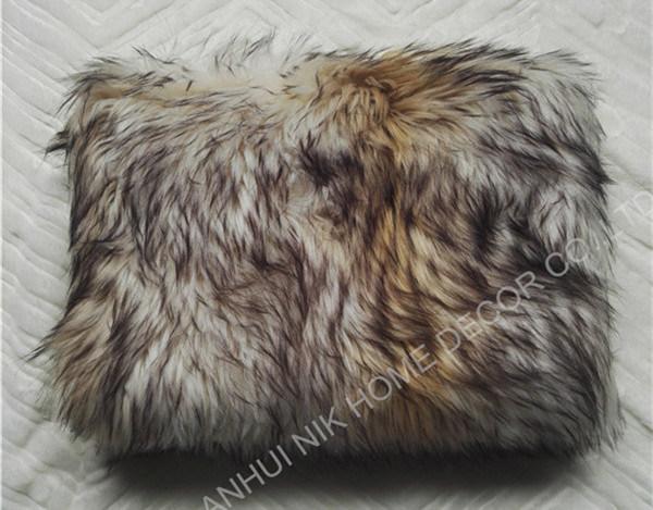 Faux Fur Throws Fake Throw Cushion